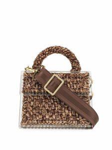 0711 Sparkly Copacabana bag - Brown