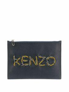 Kenzo Kontrast clutch - Black