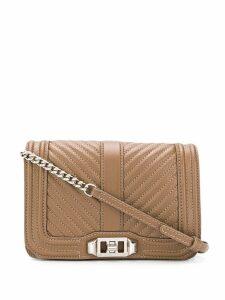 Rebecca Minkoff mini Love cross body bag - Brown