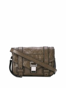 Proenza Schouler Ps1+ Mini Crossbody Zip - Brown