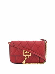 Givenchy GV3 quilted crossbody bag - Red