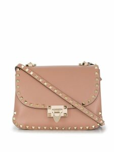 Valentino Valentino Garavani Rockstud small shoulder bag - Pink