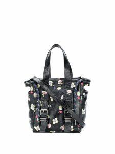 Zadig & Voltaire Bianca floral-print tote - Black