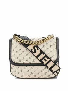 Stella McCartney monogram shoulder bag - Neutrals