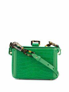Nico Giani Cerea crocodile-effect bag - Green