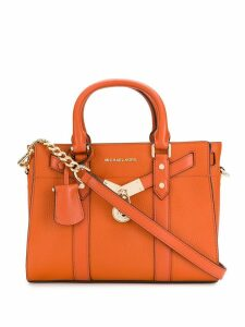 Michael Michael Kors leather padlock tote - Orange