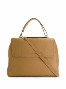 Orciani Sveva medium tote bag - Neutrals