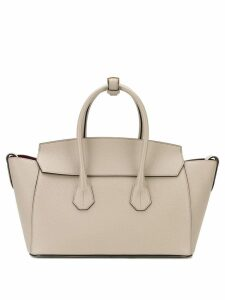 Bally logo embossed tote bag - Neutrals