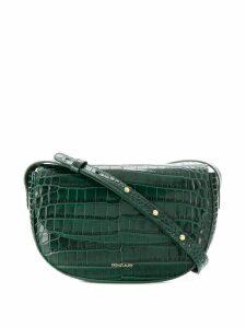 Frenzlauer croc embossed shoulder bag - Green