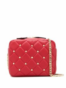 La Carrie quilted crossbody bag - Red