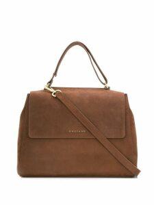 Orciani cross body tote bag - Brown