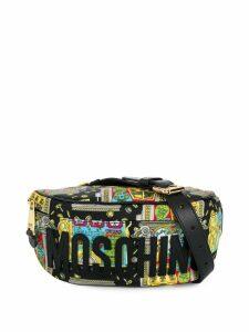 Moschino Slot Machine belt bag - Black