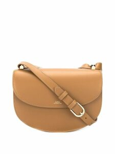 A.P.C. Sable cross-body bag - Neutrals