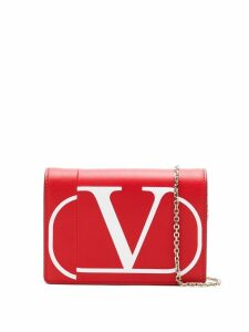 Valentino VALENTINO SW2P0249KZQ BF5 Furs & Skins->Leather - Red