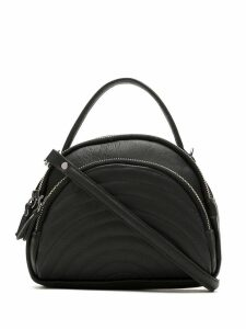 Mara Mac leather shoulder bag - Black