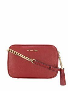 Michael Michael Kors tassel crossbody bag - Red