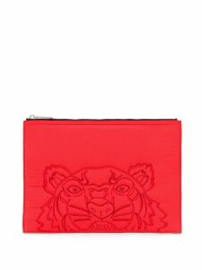 Kenzo Tiger clutch - Red