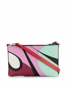 Emilio Pucci Alex Print Envelope Mini Bag - Pink