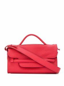 Zanellato foldover top tote bag - Red