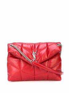 Saint Laurent Loulou Puffer shoulder bag - Red