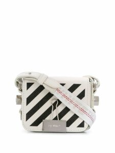 Off-White mini binder clig bag