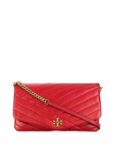 Tory Burch Kira leather clutch - Red