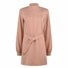 Victoria by Victoria Beckham Belt Mini Dress