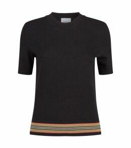 Wool Short-Sleeve Sweater
