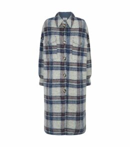 Gabrion Check Coat