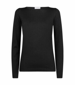 Lamé Knit Sweater