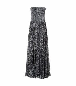 Leopard Print Corset Gown