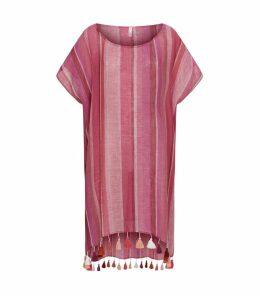 Stripe Linen Kaftan