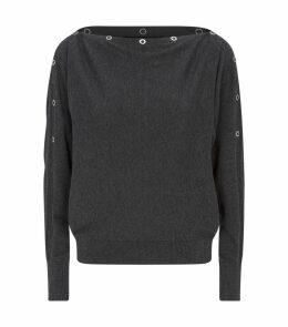 Elle Eyelet Sweater