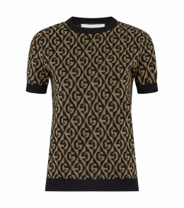 Lurex Knitted T-Shirt
