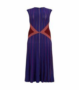 Sleeveless Strech A-Line Dress