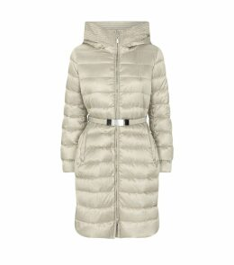 Mid-Length Reversible Down-Padded Coat