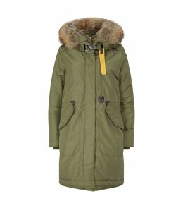 Padded Down Hooded Oxford Parka
