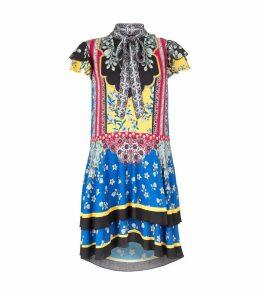 Floral Patchwork Moore Mini Dress