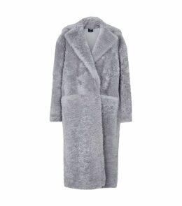 Lamb Fur Oversized Coat