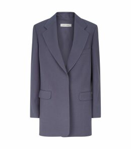 Wool Tailored Blazer