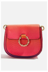 Womens **Freda Sunset Cross Body Bag By Skinnydip - Pink, Pink