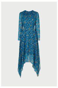 Womens L.K.Bennett Blue Ines Dress -  Blue