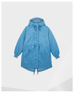 Women's Refined Insulated Drawstring Coat