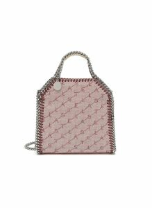 'Falabella' perforated logo mini chain tote