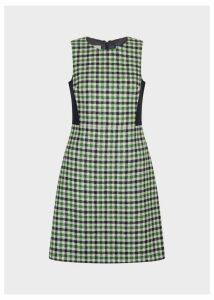Rosella Dress Ivory Green 18