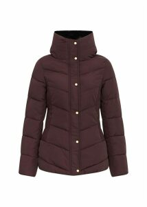 Leonie Puffer Dark Beetroot