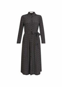 Anna Dress Black Ivory