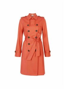 Saskia Trench Burnt Orange