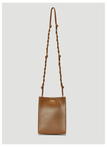 Jil Sander Tangle Small Shoulder Bag in Brown size One Size