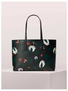 Molly Deco Bloom Large Tote - Black Multi - One Size
